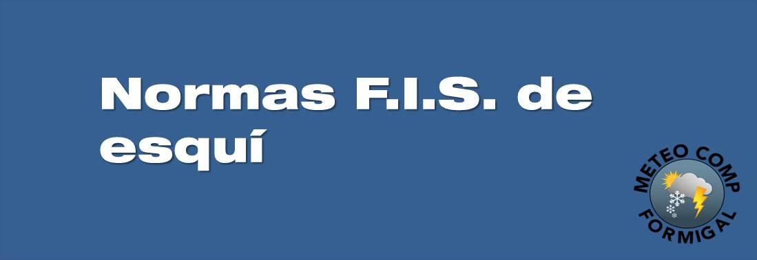 Normas FIS de esquí, snow