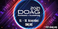 DOAG 2021 Konferenz + Ausstellung
