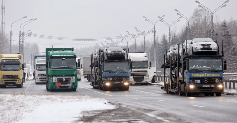 грузовики в России