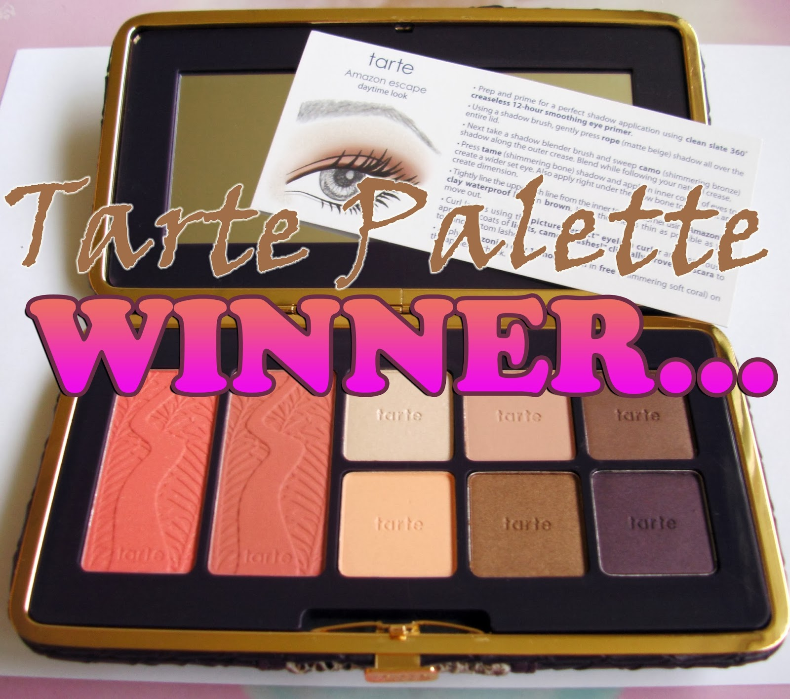 Tarte Amazonian Clay Eye & Cheek Palette Winner
