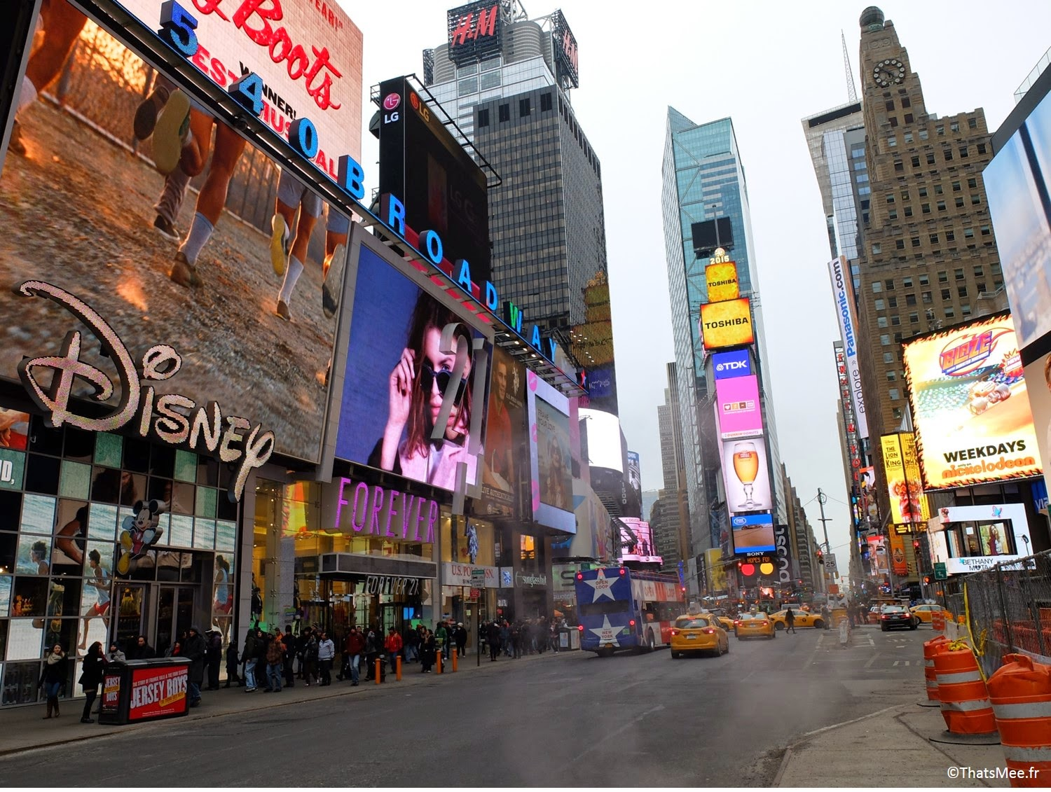 NY New-york visiter Musical comédie Times Square Broadway