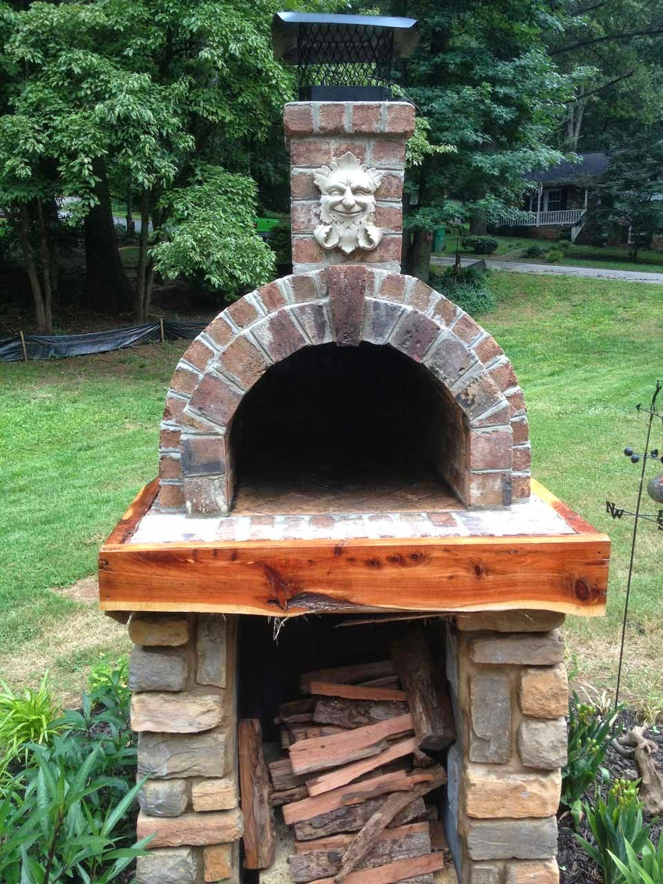Shiley Wood Fired Brick Pizza Oven South Carolina The Brickwood