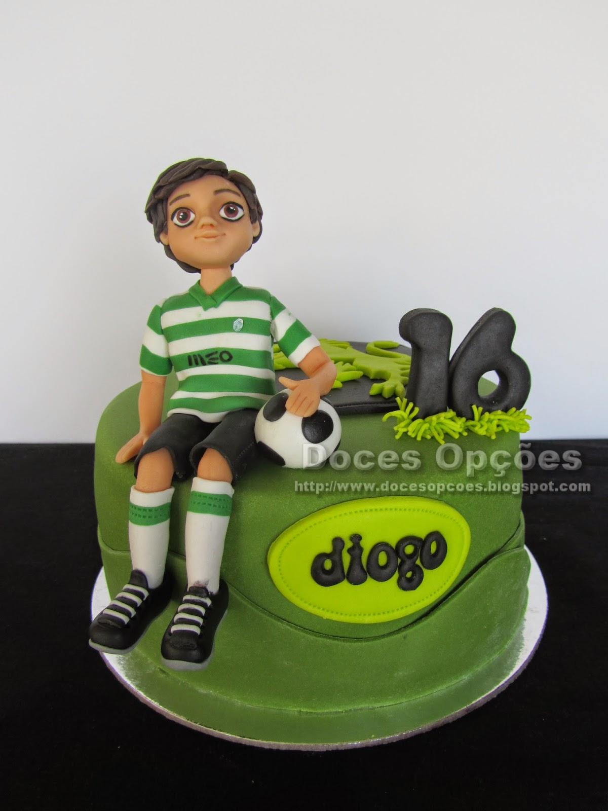 Bolo de aniversário sporting clube portugal