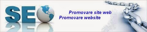 promovare site web - website