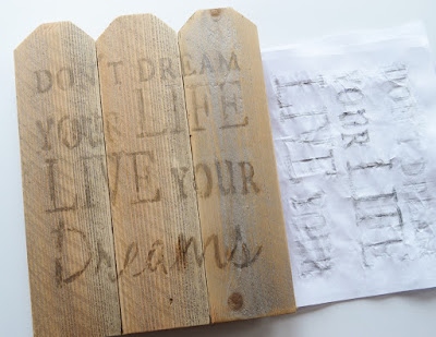Recycled Wood Sign Key Holder, Over The Apple Tree