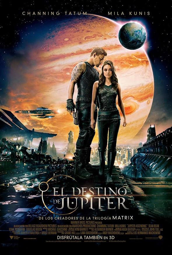 Póster en español de El destino de Júpiter