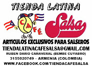 TIENDA LATINA VIRTUAL: CAFE SALSA - ARTICULOS EXCLUSIVOS PARA SALSEROS