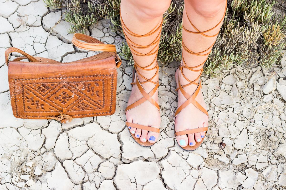 mango gladiator sandals