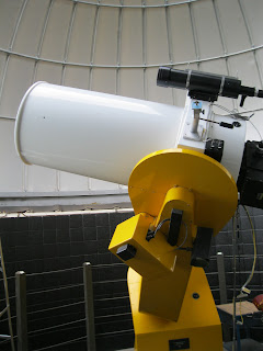 telescope at bowling green state university observatory