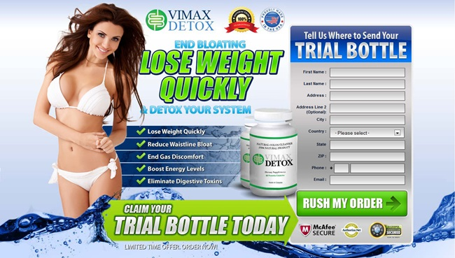 Vimax Detox Dosage
