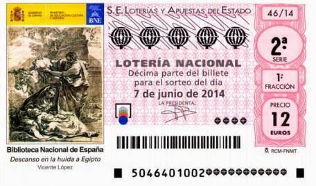 Lotería Nacional, sorteo especial de junio, sábado 7 de junio de 2014