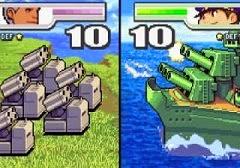 Advance Wars 2 battle cutscene