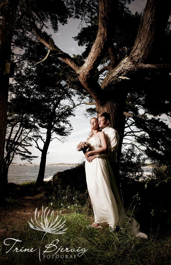 Bryllupsbilder fra Fotograf,  Bryllupsfotograf Trine Bjervig, Tønsberg , Vestfold