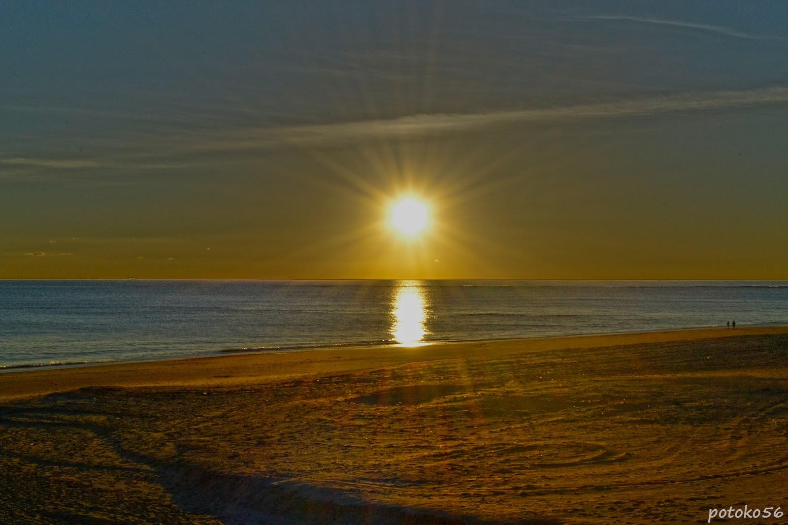 Playa de la Costilla Atardecer