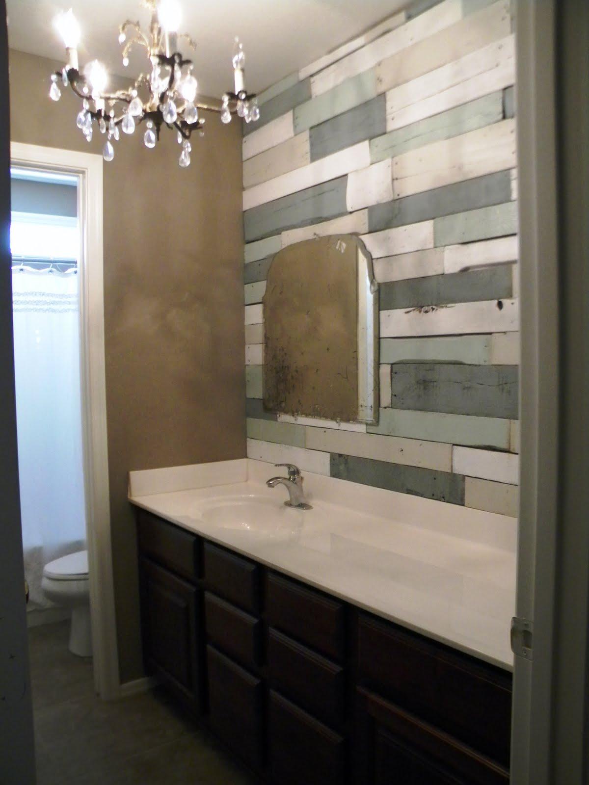 Barnwood Bathroom Eliza Loren Designs From Do It Yourself To Did It Myself