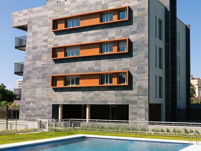 Fachadas de piedra piedras para fachadas - Piedra caliza para fachadas ...