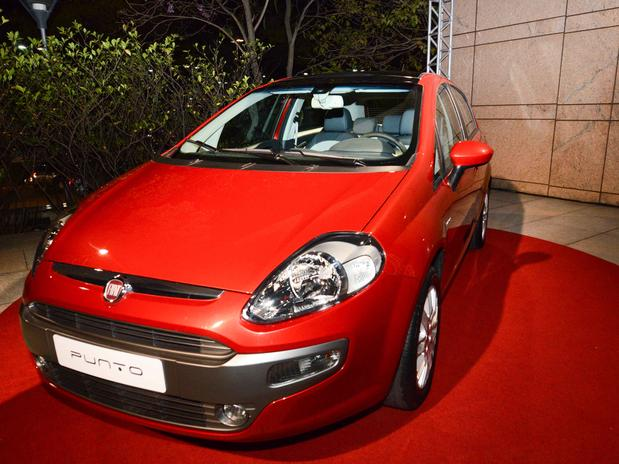 a car Fiat Punto 2014