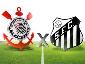 Corinthians Vs Santos: el clásico en la fecha 24 del fútbol brasilero