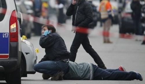 Teror di Paris Perancis