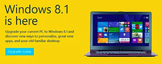 windows 8.1 update is here