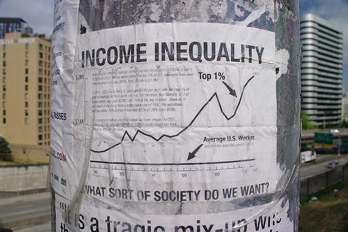 """""""Income Inequality"""" (Photo by mSeattle)"""