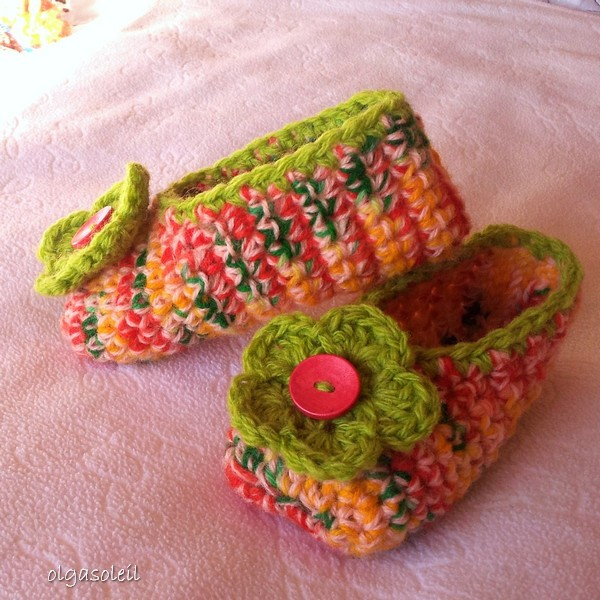 Crochet Slippers 4