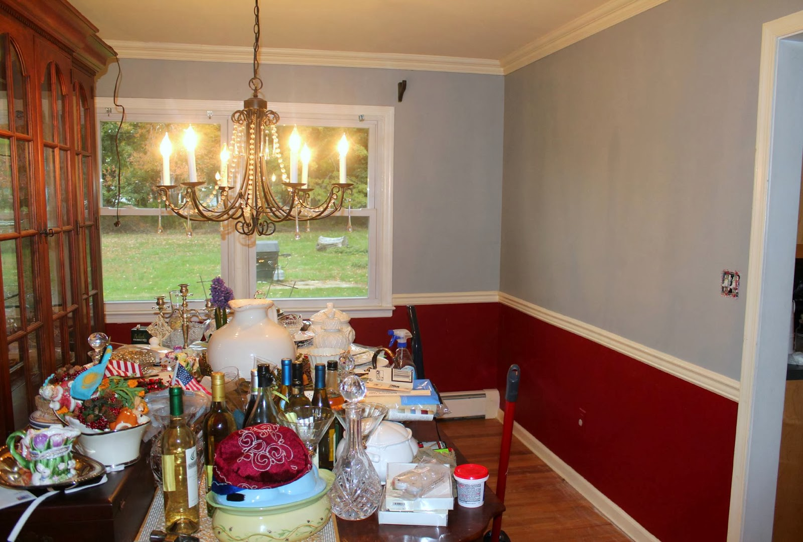 Getting The RED Out...Our Big Dining Room Reveal Part 36