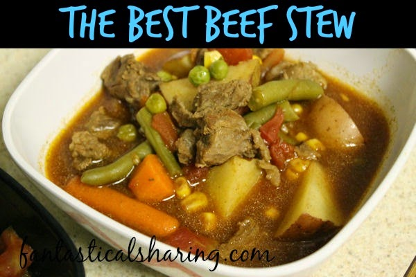 The Best Beef Stew | With instructions on how to make it on the stovetop or in the crockpot, this beef stew is too fantastic to pass up! #stew #recipe #crockpot