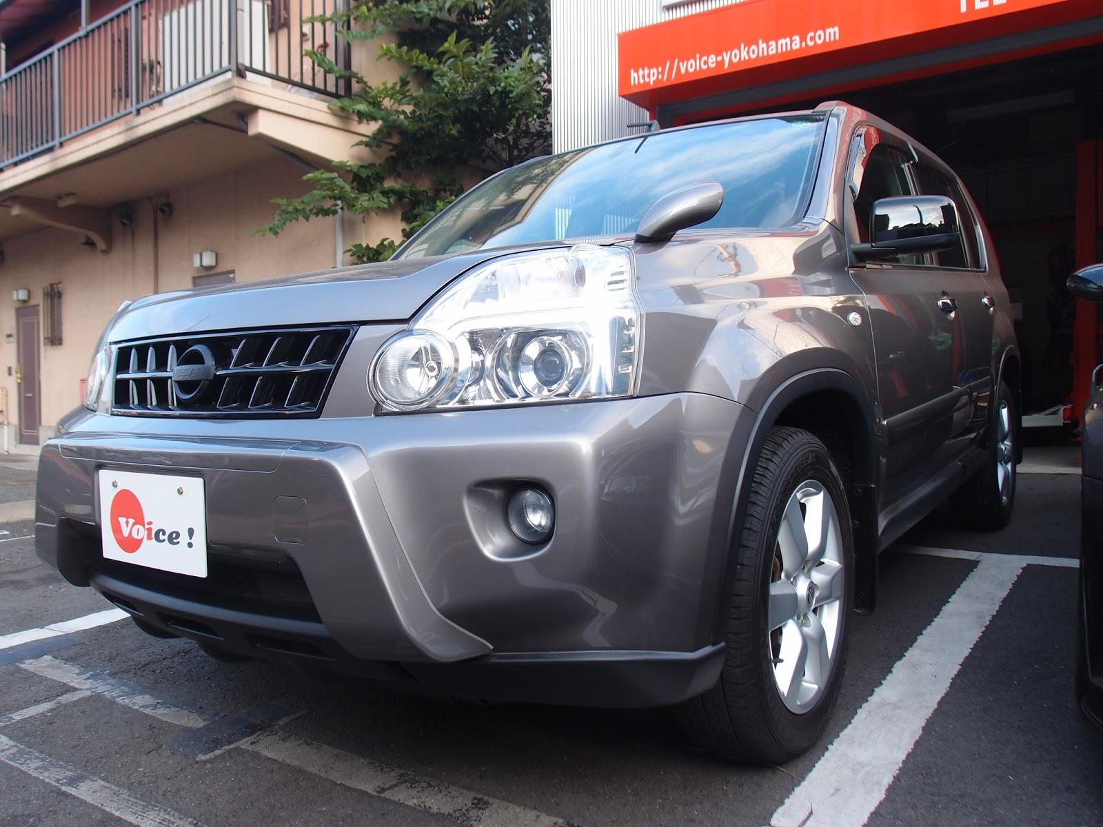 注文販売車両 日産エクストレイル(DBA,NT31) カスタム+納車整備作業