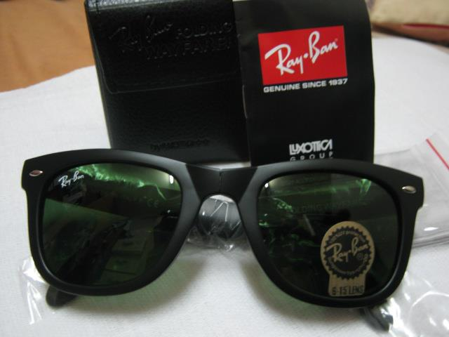 ray ban 2140 black  YOUR RAY BAN SHOP: Ray Ban Wayfarer Folding 4105 [RM90]