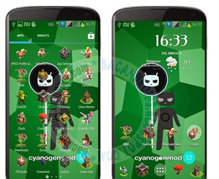 download Icon Pack Tema COC For Launcher Android