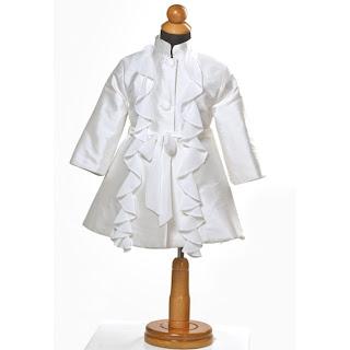 palto vaptisis metaxoto gia koritsi