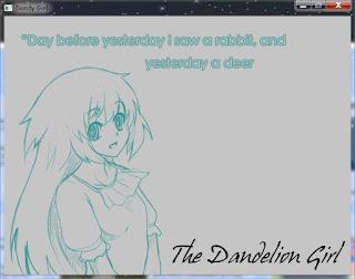 Visual Novel The Dandelion Girl Portable
