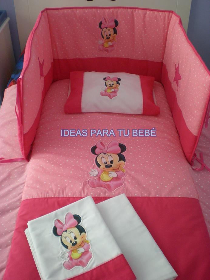 Ideas para tu bebe juegos de cuna mickey minnie y pooh bebe - Sabanas de bebe para cuna ...