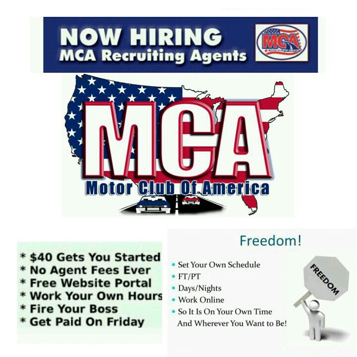 Work from home Motor club of america careers
