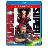 Deadpool 2 (2018) Super Duper Cut UNRATED BRRip 1080p Audio Dual Latino-Ingles