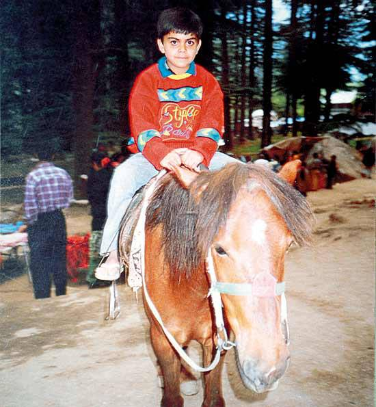 Indian Cricketer Virat Kohli Childhood PhotosVirat Kohli Childhood Photos