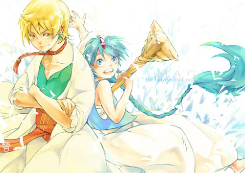 Magi: The Labyrinth of Magic #17 – Alibaba e Aladdin