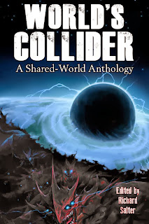 lukas thelin, worlds collider, cover, sci fi art