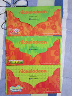 Selamat Hari Raya 2015 Eid Mubarak Nickelodeon TMNT Teenage Mutant Ninja Turtles Dora friends Spongebob Squarepants cartoon network Astro TV children kids cash money packet duit raya