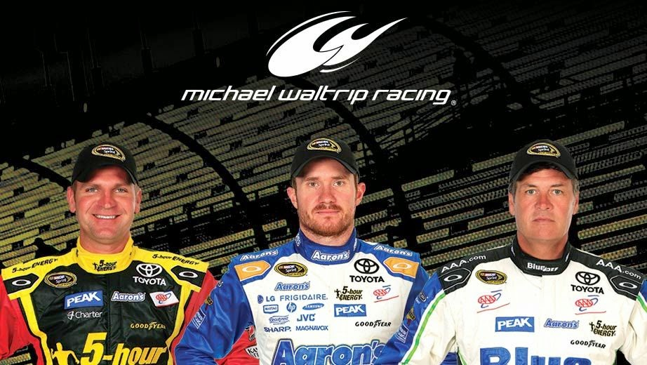 Michael Waltrip Racing = Clint Bowyer's, Brian Vickers and Michael Waltrip