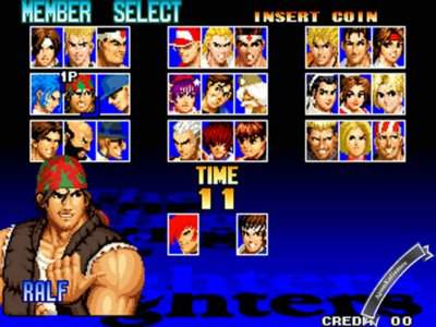 the king of fighter 97  game free