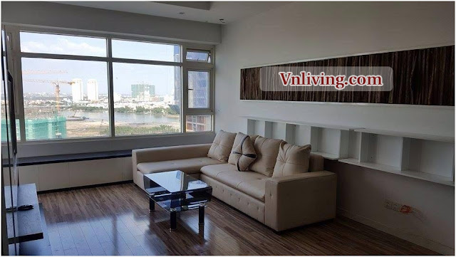 Saigon Pearl apartment for lease 3 bedrooms riverview fuly furniture
