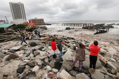 Sobe para 48 o número de mortes em consequência da tempestade Sandy