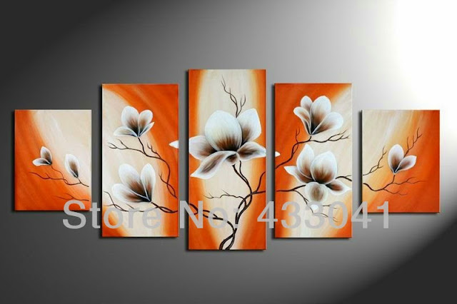 Simple Wall Paintings Black And White