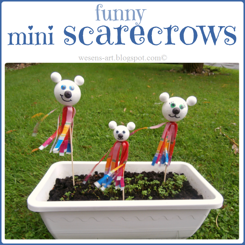 mini scarecrow   wesens-art.blogspot.com