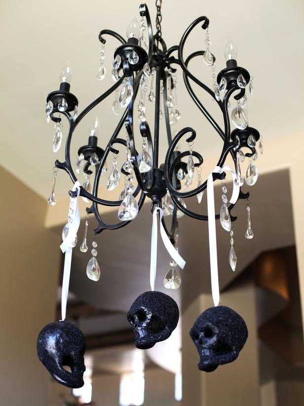 Modern furniture 2012 black and white halloween decorations ideas