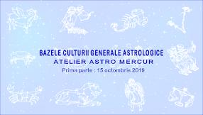 Bazele Culturii Generale Astrologice