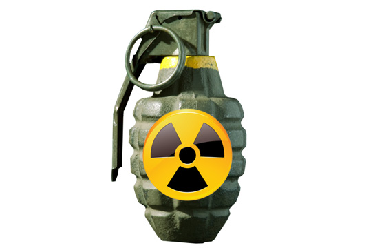 cabin talk: atomic hand grenade
