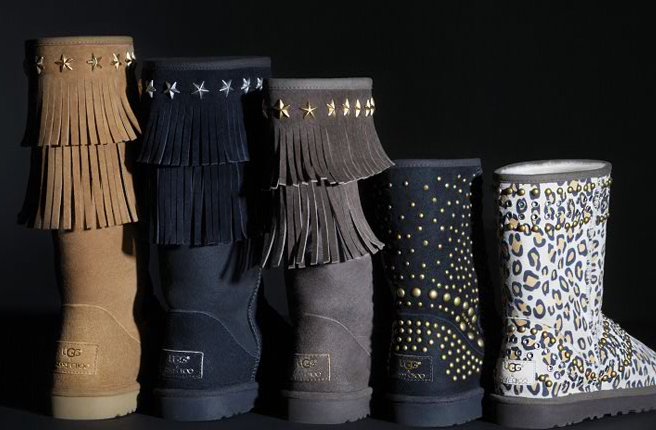 ugg and jimmy choo collection